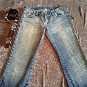 7 FOR ALL MANKIND Jeans! Size 27 / 27x29 w Accents